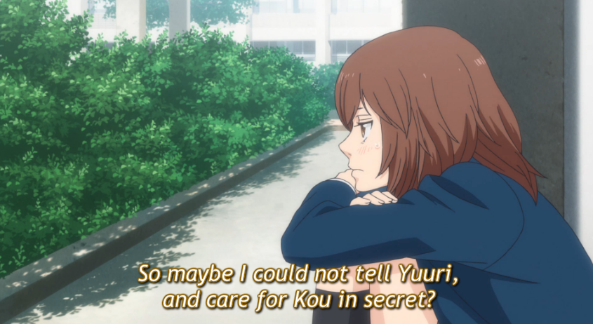 Love Kou in Secret?