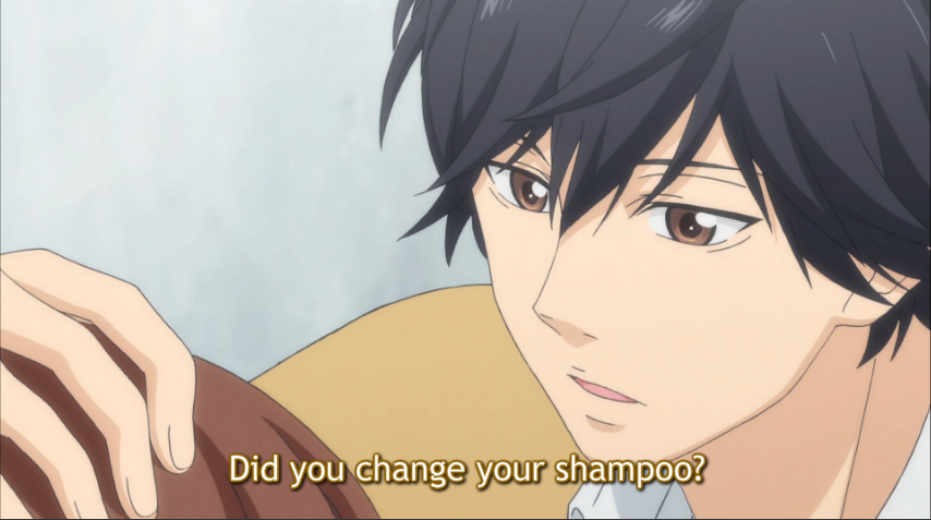 She Changed Shampoo