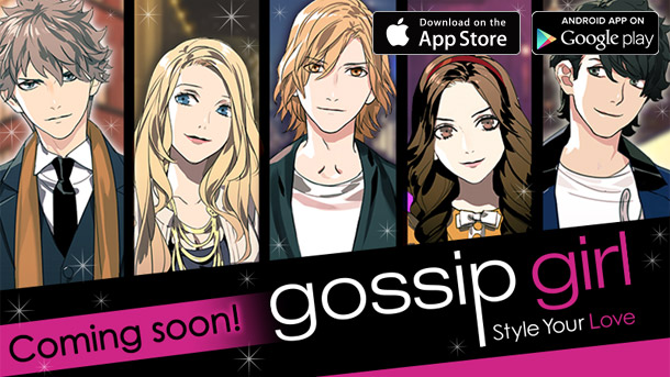 Gossip Girl visual novel art