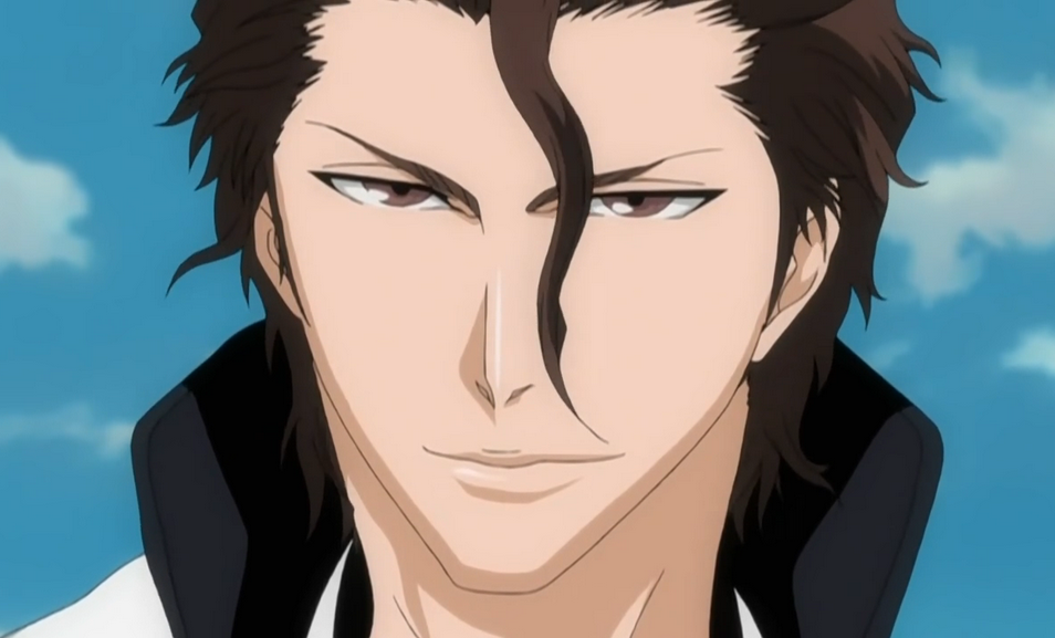 Aizen from Bleach. He was a main antagonist.