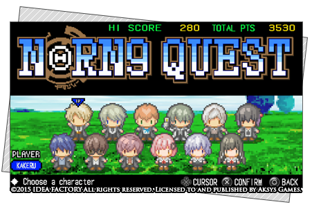 Norn9 Quest mini-game