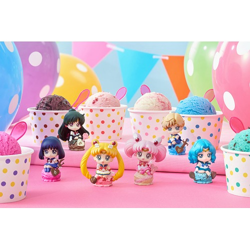 Petit Chara Land Pretty Guardian Sailor Moon Ice Cream Party Box