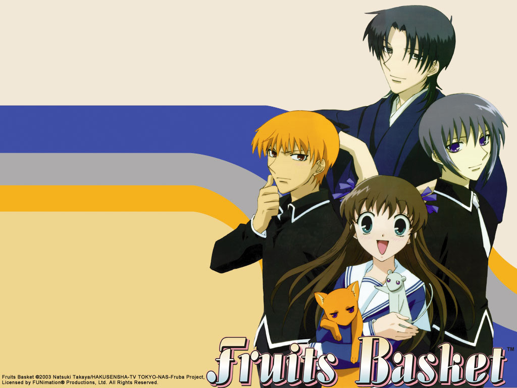 01 Fruits Basket 1024 X 768