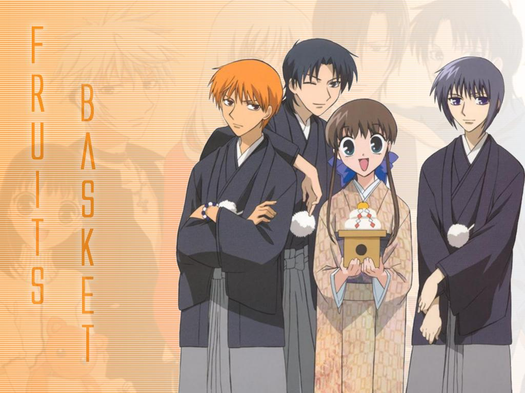 04 Fruits Basket 1024 X 768