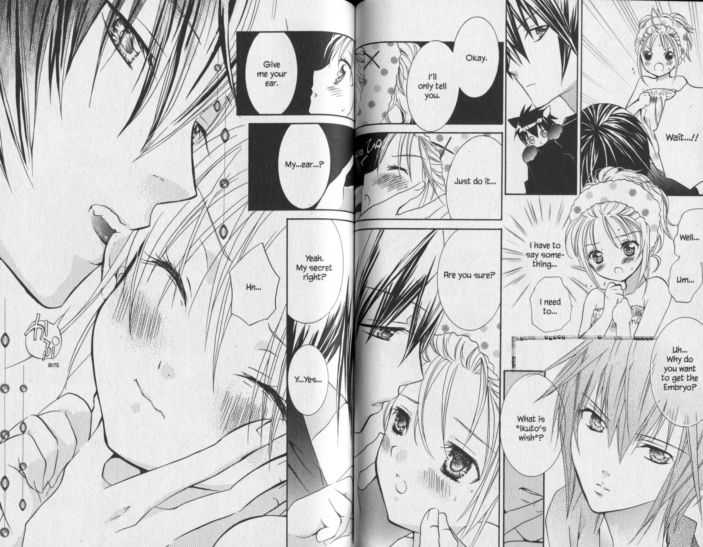 Ikuto And Amu Moments