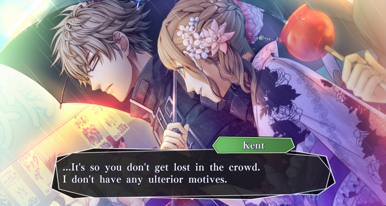 CG with Kent and the heroine